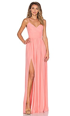 Rio Maxi Dress in Peach