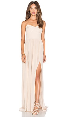 Gisele Maxi Dress in Bone