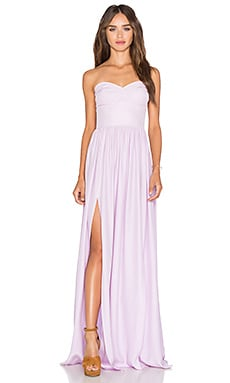 Gisele Maxi Dress in Lilac