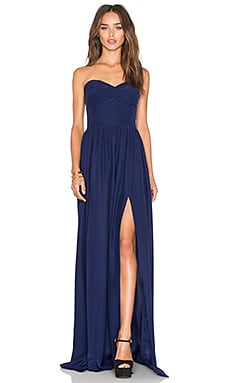 Gisele Maxi Dress in Navy