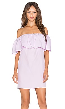 Amanda Uprichard Kiara Dress in Lilac