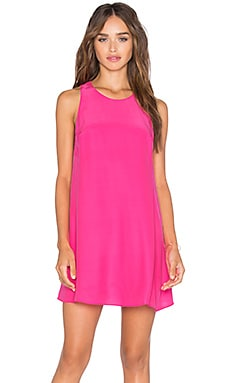 Amanda Uprichard Sleeveless Winthrop Dress in Hibiscus