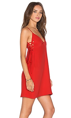 Amanda Uprichard Robin Dress in Candy Apple