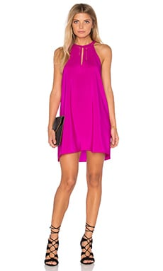 Amanda Uprichard Riley Dress in Hot Pink Light