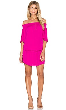 Amanda Uprichard Cleo Dress in Hot Pink