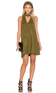 Amanda Uprichard Cassia Dress in Olive