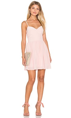 Mai Tai Mini Dress in Dusty Rose