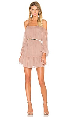 Amanda Uprichard Henriette Dress in Mauve