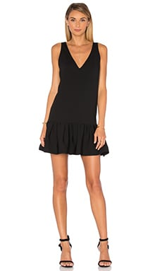 Amanda Uprichard Carrie Dress in Black