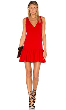 Amanda Uprichard Carrie Dress in Candy Apple