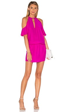 Celia Dress in Hot Pink Light