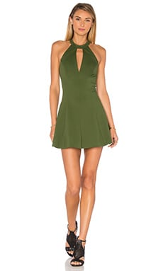 Amanda Uprichard X REVOLVE Jo Dress in Olive