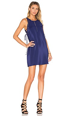 Allegra Mini Shift Dress en Azul marino