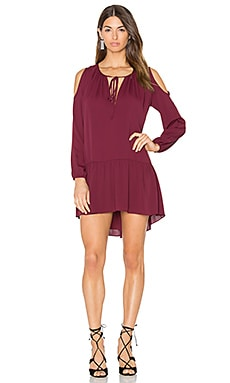 Katherine Dress en Bordeaux
