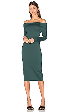 Astaire Dress in Evergreen