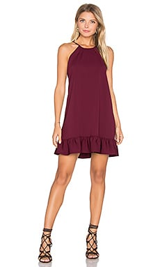 Shalyn Dress in Wine