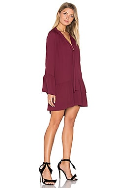 Holland Dress in Wine