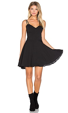 Marie Mini Dress en Noir