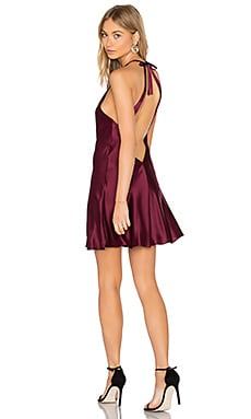 Troy Dress in Wine