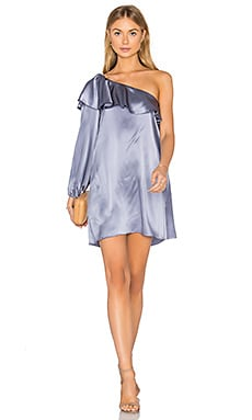 Luella Dress in Pewter