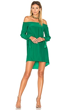 New Desiree Dress in Dark Green