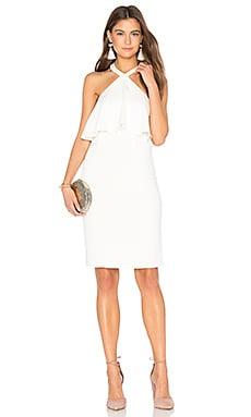Piazza Dress in Ivory