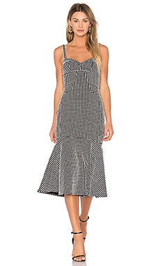 Loulette Dress in Mod Gingham