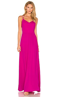 Mallorie Maxi Dress in Hot Pink