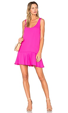 Soren Dress in Hot Pink