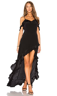 Купить Макси платье peony - Amanda Uprichard, Коктейльное, США, Черный