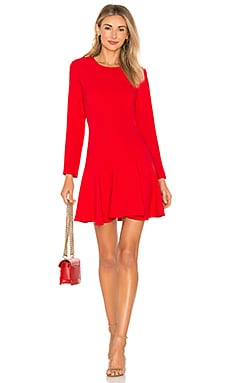 X REVOLVE Long Sleeve Hudson Mini Dress Amanda Uprichard $194