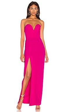 Купить Вечернее платье cherri - Amanda Uprichard, Без бретель, США, Розовый