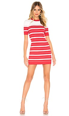 Striped Sweater Dress Amanda Uprichard $53