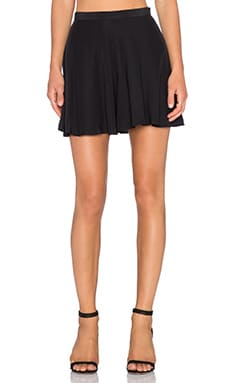 Amanda Uprichard Circle Short in Black