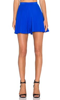 Amanda Uprichard Circle Short in Royal