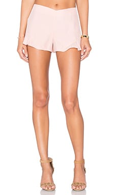 Amanda Uprichard Carmen Short in Dusty Rose