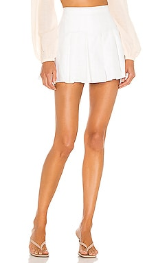 JUPE-SHORT EN LIN DIXON Amanda Uprichard $172 BEST SELLER
