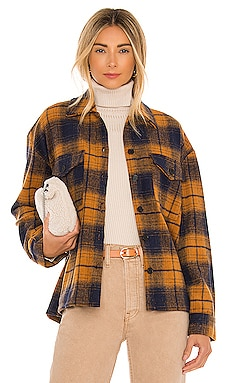 Hollis Shirt Jacket Amanda Uprichard $69