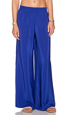Amanda Uprichard Wide Leg Pant in Ultramarine