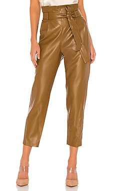 Tessi Faux Leather Pant Amanda Uprichard $216 BEST SELLER