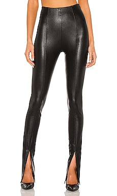 X REVOLVE Malta Leather Pants Amanda Uprichard $216 NEW