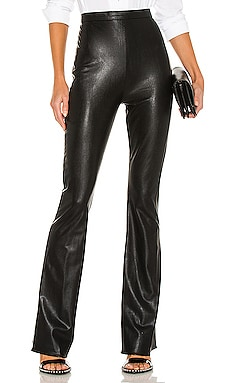 Amina Leather Pants Amanda Uprichard $224