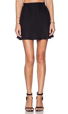 Amanda Uprichard Circle Skirt in Black