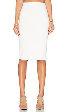 Amanda Uprichard Pencil Skirt in Ivory