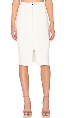 Amanda Uprichard Kara Skirt in Ivory