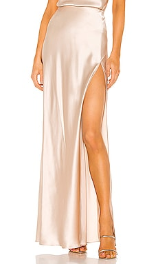 X REVOLVE Edie Maxi Skirt Amanda Uprichard $286