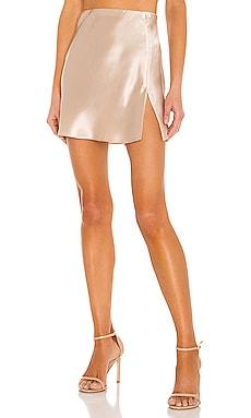 X REVOLVE Mini Ludlow Slit Skirt Amanda Uprichard $207