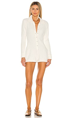 Cozy Devin Romper Amanda Uprichard $154 NEW