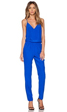 Amanda Uprichard Cricket Jumpsuit in Royal
