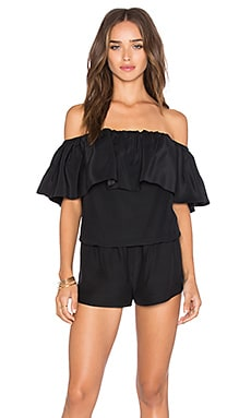 Kiara Romper in Black